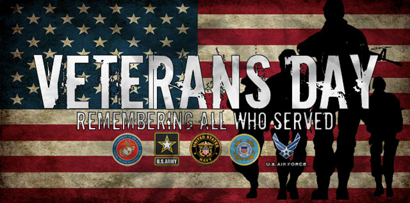 Thank you to our Veterans!